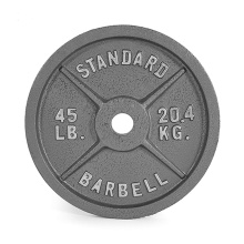 45LB Standard Cast Iron Weight Plate