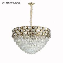 led pendant lamp circular light crystal chandelier lighting