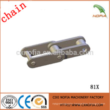 Hot sale wood conveyor chain 81X with good quality