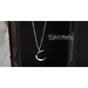 Мода Ожерелье Серебряные Ювелирные Изделия Кулон Женщин