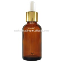50ml amber essential oil glass bottle with dropper