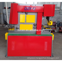 q35y-30 hydraulic iron worker punching and cutting machine
