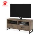 Moderner TV-Standfuß aus Holz für Flachbildschirm