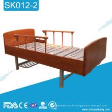 SK012-2 Lits de patients multifonctionnels en bois de soins à domicile