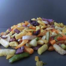comida rápida VF verduras y frutas mixtas