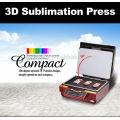 Máquina automática de la transferencia de calor de la sublimación del vacío 3D