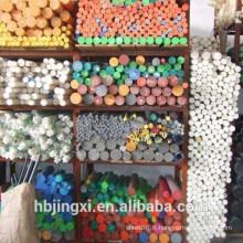 Feuille en plastique de POM d'isolation colorée de grande quantité / tige