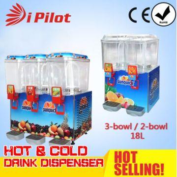 Premix 2-Bowl 18L máquina de la bebida fría
