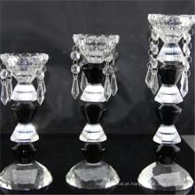 Promocional de alta qualidade barato cylinde votiva vela de vidro de luxo