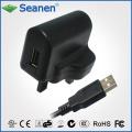 6W Reiseladegerät mit USB-Anschluss