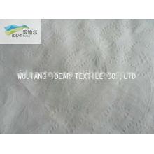 Planta CVC bolha Seersucker 65% algodão 35% poliéster tecido para cortina