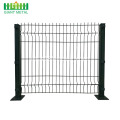 Powder Coated Triangle Bend Wire Mesh Pagar