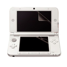 Protecteur d'écran transparent Cover Guard Shield LCD Film pour Nintendo NEW 3DS