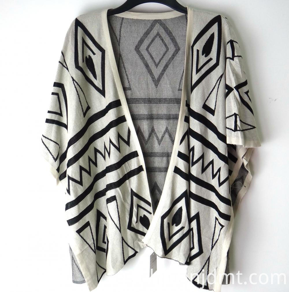 Ladies Winter Aztec Wrap