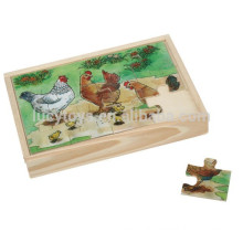 Wooden Custom Children Jigsaw Puzzle