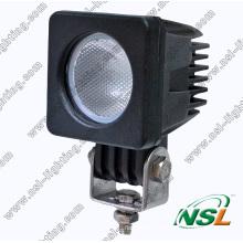 A lâmpada a mais nova da névoa da luz 4X4 do trabalho do diodo emissor de luz do CREE 10W para o caminhão Offroad