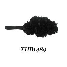 Headband / cetim flor headband / cetim headband (xhb1489)