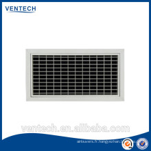 Diffuseur d'air/grille aluminium offre air