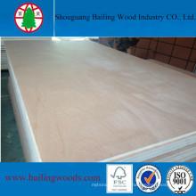 Fábrica de madeira compensada comercial da China com melhor preço