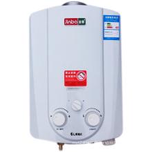 6L Niedriger Wasserdruck-Rauchabzugs-Sofort-Gas-Warmwasserbereiter