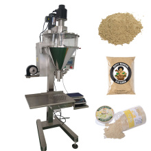 Semi Automatic Powder Filling Machine Protein Milk Coffee Pudding Cranberry Powder Cans Bottles Premade Bags