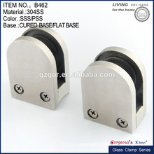 big size round glass clamp/double side glass door hinge