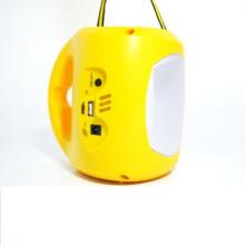 6V Ebst-D08d Lampe de camping solaire en énergie verte pour extérieur