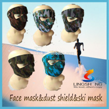 Atacado esportes tecido respiração máscara rosto máscara de neoprene rosto