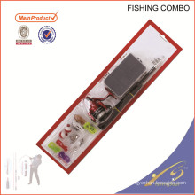 FDSF103 weihai chine pêche nouvel ensemble de canne à pêche bobine combo