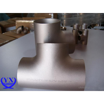 ANSI/ASME B16.9 Carbon Steel A105 Reducing Tee