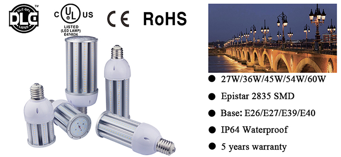 led corn light 27w-60w