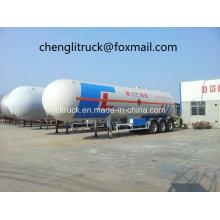 3 Axle 59.6 Cbm LPG Tanker Semi Trailer