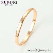 51564- Xuping Jewelry Fashion Einfache entworfene Armbänder mit 18K Gold überzogen