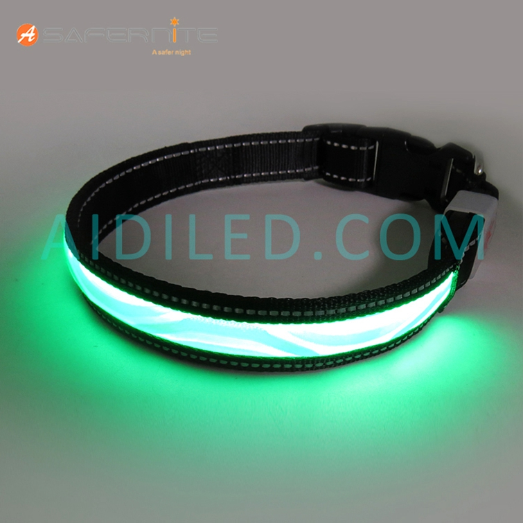 Usb Oplaadbare Light-Up Luminescentie Veiligheid Halsbanden