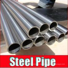 Tubo de acero y tubería de acero sin costura