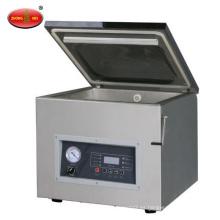 Sellador de alimentos de vacío de una cámara de acero inoxidable DZ400-2D