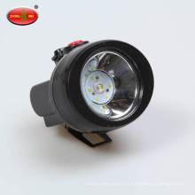 Lampe frontale étanche à batterie au lithium Lampe frontale à casque Charge des phares extérieurs
