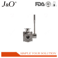 Best Popular Sanitary Stainless Steel Clamp 3 Way Ball Valve