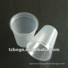 plastic disposable cup mould