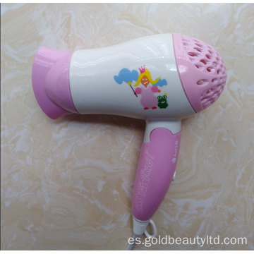 Diseño especial Cartoon Pattern 1200W Niños Hair Blower