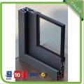 Double glass aluminum sliding door