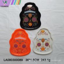 Custom reusable plastic trays for Halloween