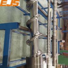 38CrMoAlA nitrierten Schnecke und Zylinder für Kautschuk-Maschine