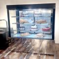 1800mm supermarket cake display showcase