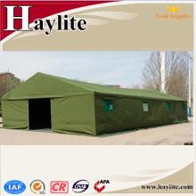 Tienda de campaña del camuflaje verde del PVC del PE para el uso militar