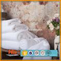 China fez toalhas de algodão / alibaba fornecedor hotel branco fantasia toalhas de banho / baixo custo 100% algodão toalha simples hotel