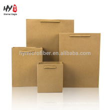custom size durable paper tote bag