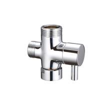 3 Way quick open shower dispensing diverter water  brass angle valve  Bathroom Toilet Sprayer Bidet valve