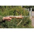 оптовая деревянный охотничий арбалет со стрелами