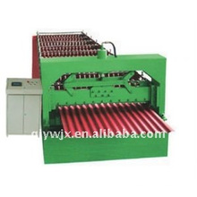 QJ 850 colored steel automatic tile making machinery